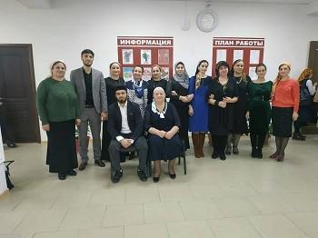 На семинаре в «ДК с.п. Инарки»
