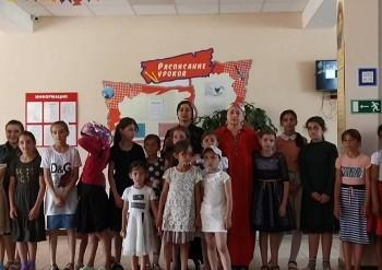 Выездной концерт в детском лагере «Улыбка»